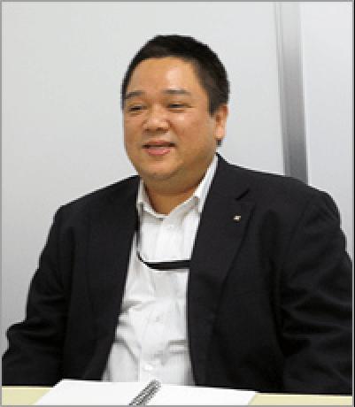 「ナレッジリングは非常に操作しやすい」と語る、コンタクトセンター島田様