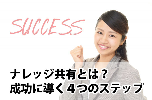 ナレッジ共有成功の4ステップ